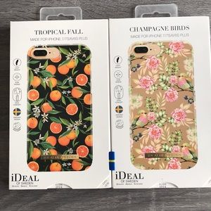 iDeal of Sweden 2 x iPhone Cases 6/6S/7/7S PLUS